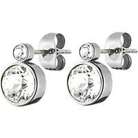 DYRBERG/KERN London Swarovski Crystal Round Stud Earrings