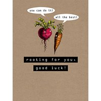Art File Rooting For You Greeting Card