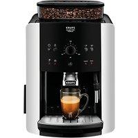 KRUPS EA811840 Arabica Manual Bean-to-cup Coffee Machine, Silver