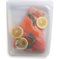 stasher Silicone Multi-Purpose Kitchen Storage Bag, Clear, Large