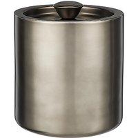 John Lewis Stainless Steel Ice Bucket, Gunmetal