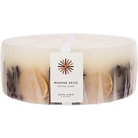 John Lewis & Partners Winter Spice Inclusion Candle, Extra Large