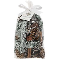 John Lewis & Partners Frosted Spruce Pot Pourri, 494g