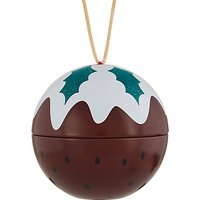 John Lewis & Partners Bauble Christmas Pudding Scented Candle, 140g