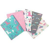 Craft Cotton Co. Dreamy Pastels Fat Quarter Fabrics, Pack of 5, Multi
