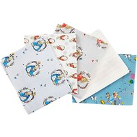 Peter Rabbit Fat Quarter Fabrics, Pack of 5, Neutral