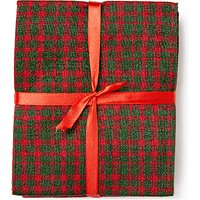 John Louden Tartan Fat Quarter Fabrics, Pack of 5, Red/Green