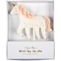 Meri Meri Unicorn Birthday Cake Candle