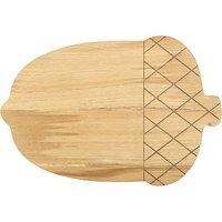 John Lewis & Partners Acorn Chopping Board, Oak Wood
