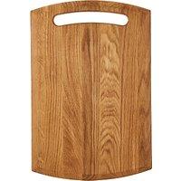 John Lewis & Partners Large Classic Chopping Board, FSC-Certified (Oak Wood), L42cm