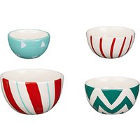 John Lewis & Partners Candy Cane Measuring Cups, Set of 4
