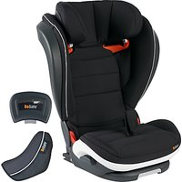 BeSafe Izi Flex High-Back Booster Group 2/3 i-Size Seat, Black