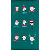 John Lewis & Partners Santa Hand Towel