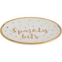 John Lewis & Partners 'Sparkly Bits' Bathroom Trinket Tray