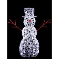 John Lewis & Partners Alastair the Snowman LED Figure