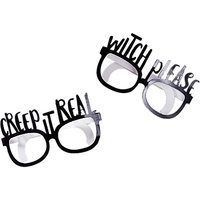 Ginger Ray Halloween Fun Glasses, Pack of 8