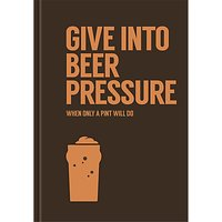 Allsorted Give Into Beer Pressure Book