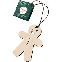 Esteban Scented Gingerbread Man Decoration