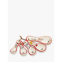 Molly Hatch Flower Measuring Spoons, Multi, Set of 5