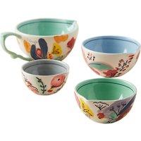 Anthropologie Milton Bakeware Measuring Cups, Multi, Set of 4