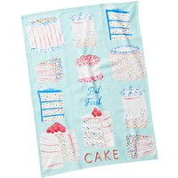 Anthropologie 'But First Cake' Tea Towel