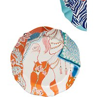 Anthropologie Paige Gemmel Elephant Dessert Plate, 21cm