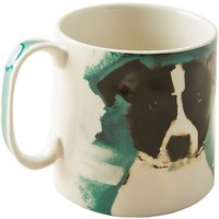 Anthropologie Sally Muir Dog-a-Day Mug, 503ml, French Bulldog