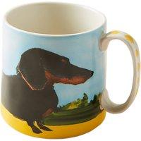 Anthropologie Sally Muir Dog-a-Day Mug, 503ml, Dachshund