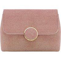 Dune Bayer Clutch Bag, Rose Gold