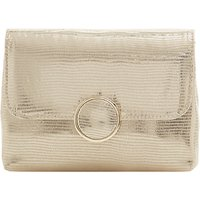 Dune Bayer Clutch Bag, Gold