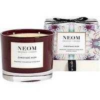 Neom Christmas Wish 3 Wick Candle, 420g