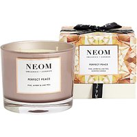 Neom Perfect Peace 3 Wick Candle, 420g