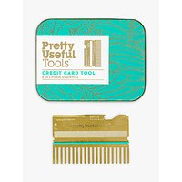 Pretty Useful Tools Credit Card Tool, Gold