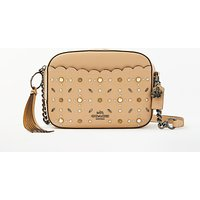 Coach Rivets Leather Camera Bag, Beechwood