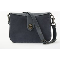 Coach Page 27 Leather Shoulder Bag, Midnight Navy