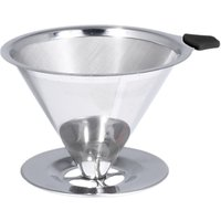 Bialetti Stainless Steel Pour Over 2 Cup Coffee Maker