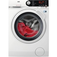 AEG L7WEE861R Freestanding Washer Dryer, 8kg Wash/6kg Dry Load, A Energy Rating, White