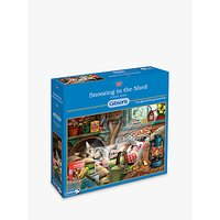 Image of Gibsons Snoozing In The Shed Jigsaw Puzzle, 1000 Pieces