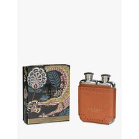 'Ted Baker Double Hip Flask, Brown Brogue