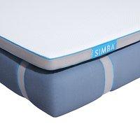 SIMBA Luxe Memory Foam Pocket Spring Mattress, Medium Tension, Super King Size