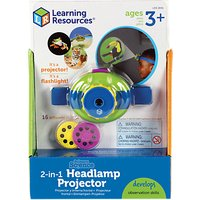 Learning Resources Primary Science 2-in-1 Headlamp Projector