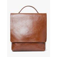 John Lewis & Partners Alina Leather Slim Backpack