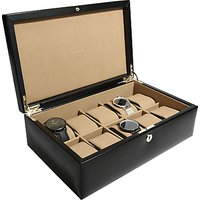 shop for Dulwich Designs Windsor Leather 10 Piece Watch Box at Shopo