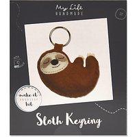 My Life Handmade Sloth Keyring Craft Kit
