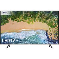 Samsung UE55NU7100 HDR 4K Ultra HD Smart TV, 55 with TVPlus & 360 Design, Ultra HD Certified, Black