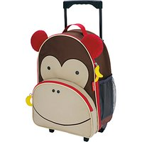 Skip Hop Zoo Rolling Luggage, Monkey