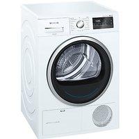 Siemens WT45M231GB Heat Pump Tumble Dryer, 8kg Load, A++ Energy Rating, White