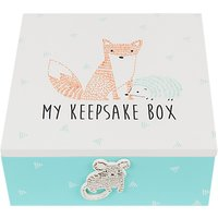 John Lewis & Partners Baby Forest Friends Keepsake Box