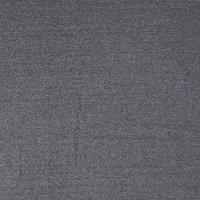 Viscount Textiles Wool Suiting Herringbone Fabric, Black