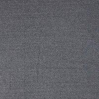 Viscount Textiles Wool Suiting Herringbone Fabric, Black